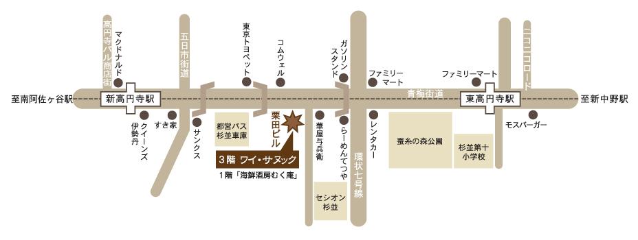 ワイ・サヌック地図